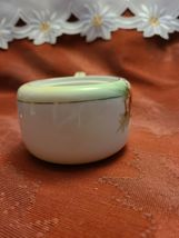 "Hand-painted Nippon Sugar Bowl Missing Lid 3"" wide (not including arm) x 2"" tall image 5"