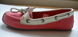Keen Catalina Toile Chaussures Bateau US 7 Rose Saumon Neuf - $40.05