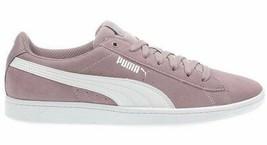 NEW PUMA Ladies Womens Suede Vikky Purple Elderberry Tennis Gym Shoes Sneakers image 2