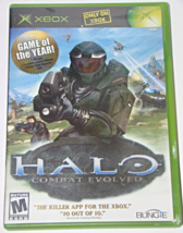 Xbox - HALO COMBAT EVOLVED (Complete with Manual) - $6.50