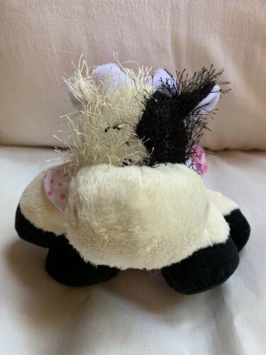 WEBKINZ COW - HM 003 - Used W No Tag Nice Clean Animal Toy Doll ganz image 2