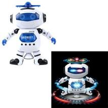 360 Rotating Walking Music Robot LED Laser Shake Hand Boys Cool Xmas Gif... - $16.14