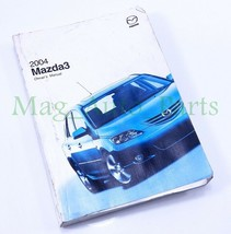 2004 Mazda 3 Owners Manual Booklet Reference OEM 04 USER Guide Book Seda... - $8.91