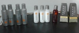 Thann Travel Size Lot of 12 Shampoo Conditioner Soap Body Wash - $5.45