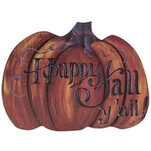 Country Pumpkin wall Hanger Happy Fall Y'all  - $39.99