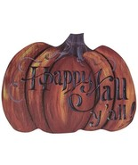 Happy Fall Y'all Pumpkin Hanger - $39.99