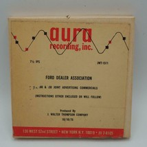 Vintage Ford Dealer Radio Station Commercial 1975 Tape - $53.45