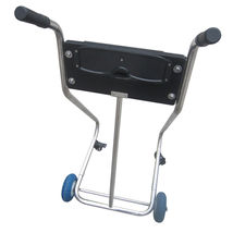 Stainless Steel Boat Outboard Motor Stand Cart Dolly With Wheel Enginee Carrier image 3