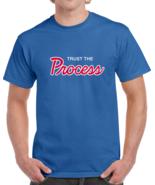 Philadelphia Basketball Hybrid Trust The Process T Shirt - $20.99+
