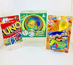 Kids Card Game Lot Spot It Gone Camping UNO Customizable Wild Cards Spoo... - $22.76