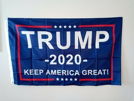 MAGA Make America Great Again Donald Trump Keep America Great 3X5 FT Fla... - $6.99