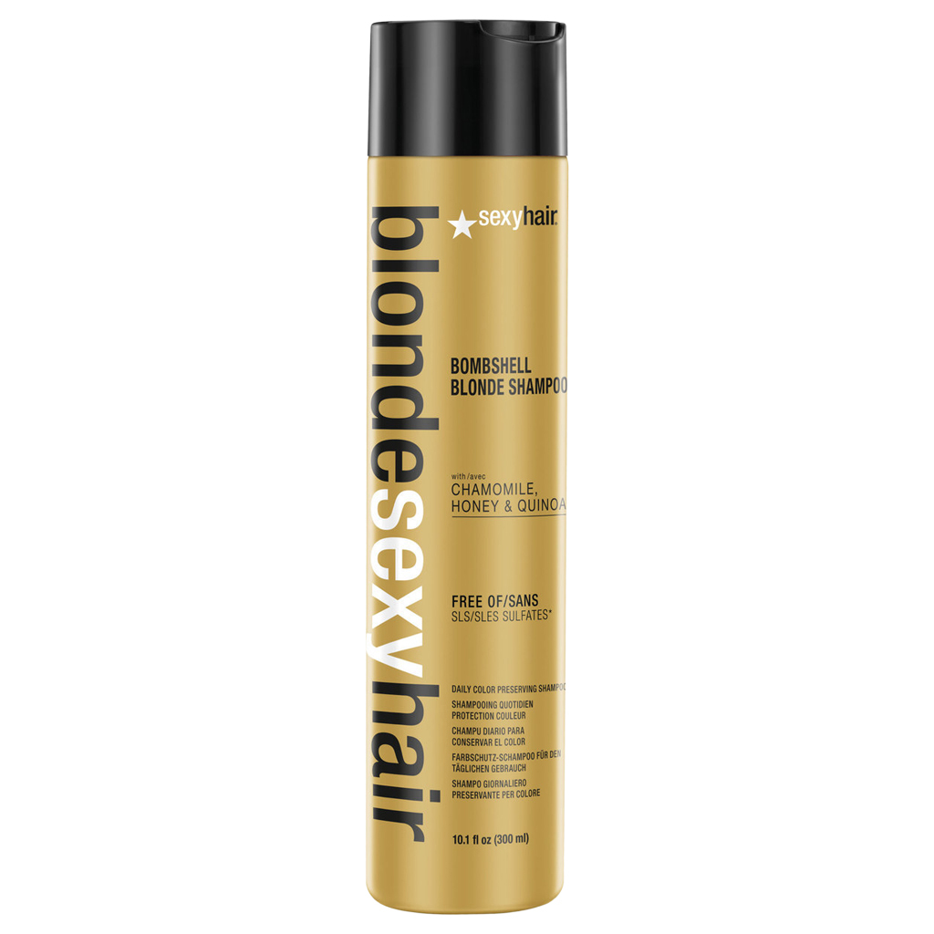 Primary image for Sexy Hair Blonde Sexy Hair Bombshell Blonde Shampoo 10.1 oz / 300 ml