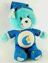 "Care Bears Talking Blue Bedtime Bear Light Up Musical Singing Lullaby 13"" 2002 - $36.58"