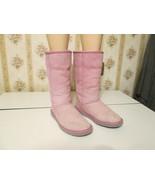 Ugg Australia pink snow boots Classic tall Womens  Winter Sheepskin Auth... - $60.00