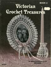 Victorian Crochet Treasures Pattern Book 2 SPCR-3 Sandy Crafts Lampshade... - $9.99
