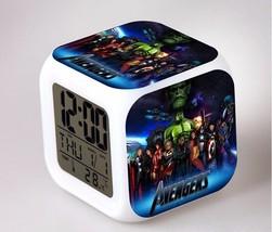 Marvel The Avengers LED Alarm Clock #09 - $23.99