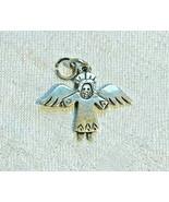 Jeep Collins Sterling Silver Angel Bracelet Charm Retired Pendant - $24.24