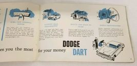1963 Dodge Dart Owners Manual And Owners Service Certificate Book image 9