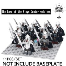 11pcs/set The Lord of the Rings Gondor Soldiers Sword Infantry Lego Minifigures - $18.99