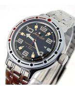Vostok Amphibian 420335 /2416 Military Russian Diver Watch Scuba Dude - $80.28