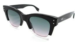Fendi Sunglasses FF 0237/S 3HPJP 49-22-145 Black Pink / Green Pink Gradient - $154.35