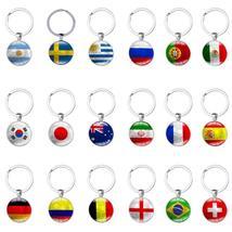 Football Cup Hot Football Keychains Key Ring Soccer Key Chains Souvenir - $16.85