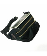 JanSport Backpack HIPPYLAND Black/Gold Waist Bag  2ZIPPER JS0A2SDF0UQ - $29.69