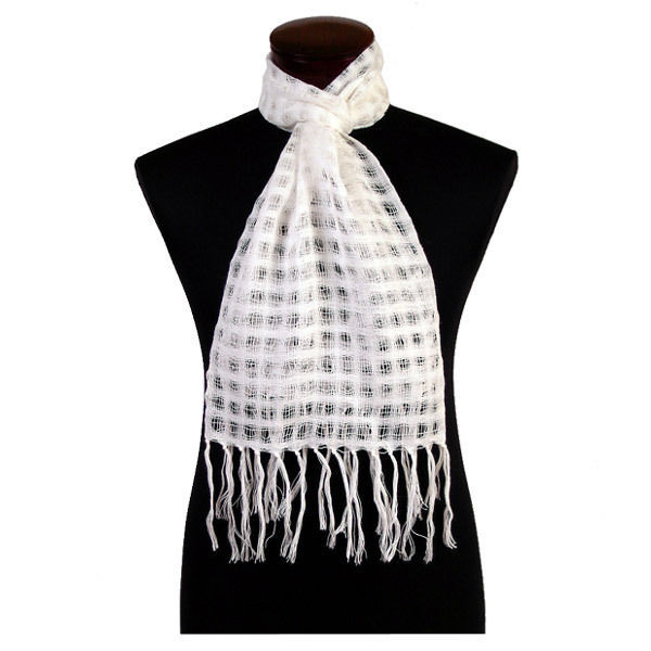 5077 woven 100 alpaca shear solid scarf 6 pack