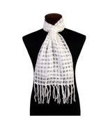 #5077 Hand Woven 100% Alpaca Shear Solid Scarf 6 Pack Wholesale Lot Asst... - €49,15 EUR