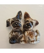 SCOTTIE DOGS Salt Pepper Shakers 1950's VTG Japan Schnauzer Scottish Ter... - $19.78