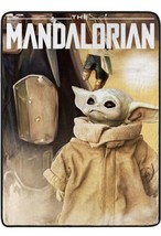BABY YODA MANDALORIAN TEENS KIDS DISNEY PLUSH BLANKET SOFTY AND WARM TWIN - $44.09