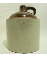 Vintage Stoneware Crock 1 Gallon Jug Unmarked - $61.65