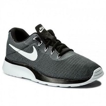 NIKE Tanjun Racer Gray Men's Running Shoes Athletic Sneakers 921669-002 NEW - $38.69