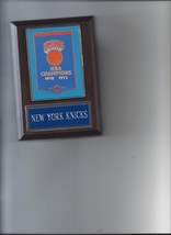 New York Knicks Banner Plaque Nba Champions Champs Basketball Nba Ny - $3.95