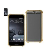Reiko Htc One A9 Clear Bumper Case With Air Cushion Protection In Clear ... - $12.68