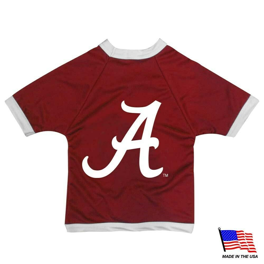 Primary image for Alabama Crimson Tide Athletic Mesh Pet Jersey - Small
