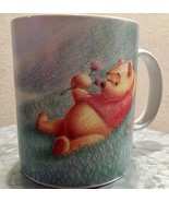 Winnie The Pooh Simply Pooh Big Coffee Mug Cup Colored Pencil Drawn Pooh... - $22.99