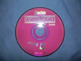 Barbie Fashion Designer [CD-ROM] Windows 95 / Linux / Unix / Mac / Windo... - $9.89