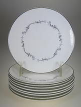 Royal Doulton Coronet Bread & Butter Plates Set of 9 - $22.68