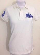 Ralph Lauren Womens Cotton Cream Polo Shirt Size Extra Small XS RRP £92 - $54.03