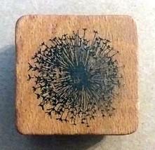 Comotion Dandelion Wood Mounted Rubber Stamp - $10.88