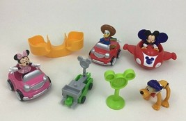 Mickey Mouse Clubhouse Toy Figure Disney Fisher Price Lot 10pc Car Racer... - $26.68