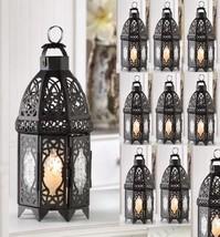 "Lot 15 Enchanting 12"" Black Lantern Candleholder Wedding centerpieces  - $167.31"