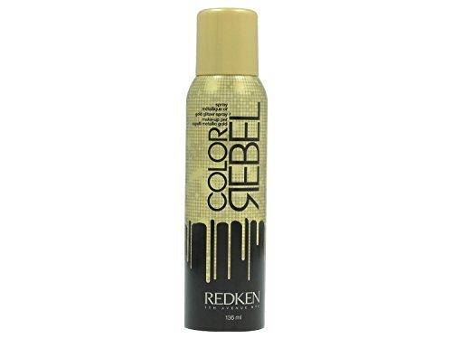 Redken Color Rebel Gold Glitter Spray 3.6 Oz