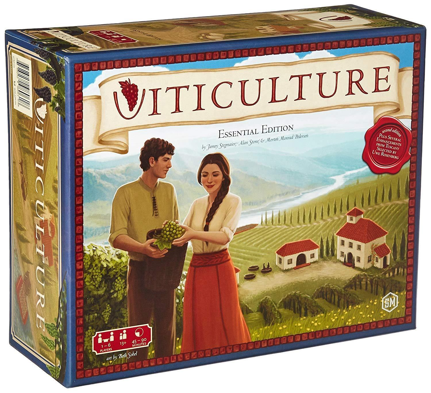 Viticulture Essential Edition Board Game [New] Stonemaier Games