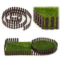 NEW Kit Wood Fence Accessories Decor Miniature Terrarium Doll House - $7.50