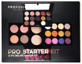 Profusion Cosmetics - Pro Starter Kit - Makeup Artist Kit Eyeshadows Lip Shades