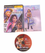 Final Fantasy X-2 for Playstation 2 PS2 Complete Fast Free Shipping! Bla... - $7.87