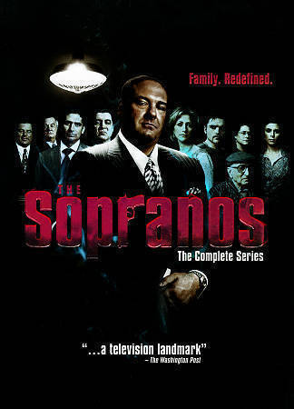 The Sopranos The Complete Series Season 1-6 (DVD 2014 30-Disc) 1 2 3 4 5 6