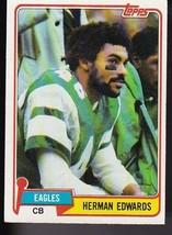 Herman Edwards 1981 Topps #179 Philadelphia Eagles - $2.03